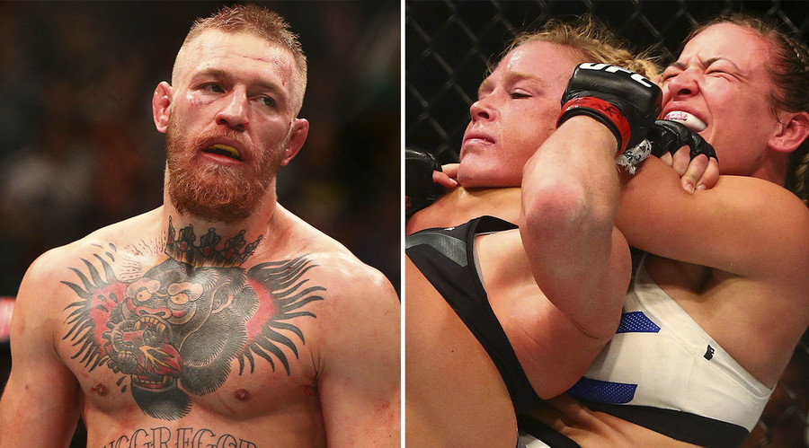UFC continues growth despite shock defeats for McGregor & Holm