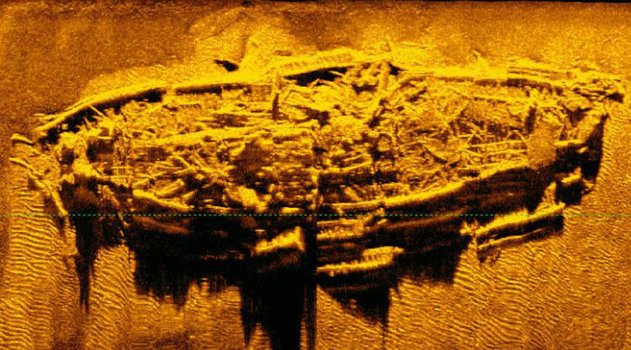 Wrecked US Civil War steamship discovered on Atlantic floor (PHOTO)
