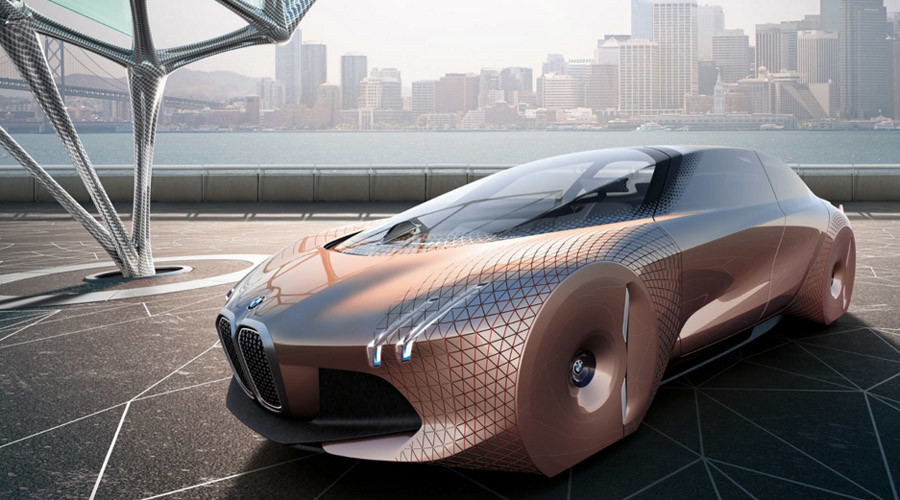 Vision Of The Future Bmw Unveils Incredible Self