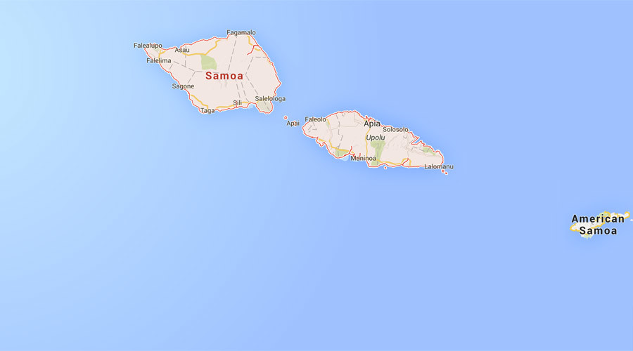 6.2 magnitude earthquake strikes southwest of Samoa