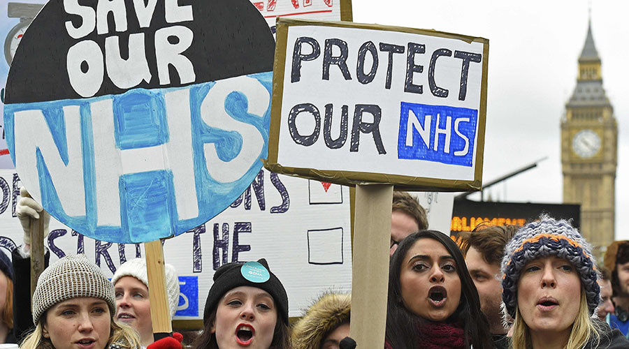 5,000 procedures canceled as junior doctors launch 48-hour strike