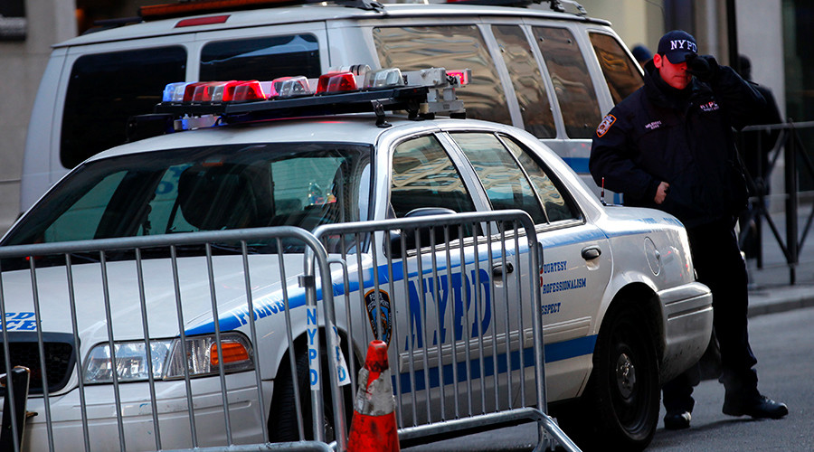 Lawmakers call for New York cop to be fired over black teen shooting