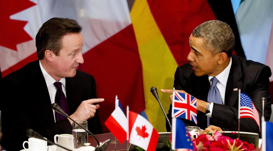 'S**t show': Obama blames UK & other European states for post-Gaddafi Libya 'mess'