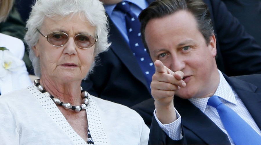 All in this together, Mum! Austerity hits home as Cameron's mother loses job