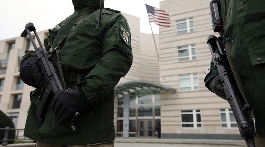 'I'll avenge Osama': Man arrested at US embassy in Berlin after claiming he had bomb