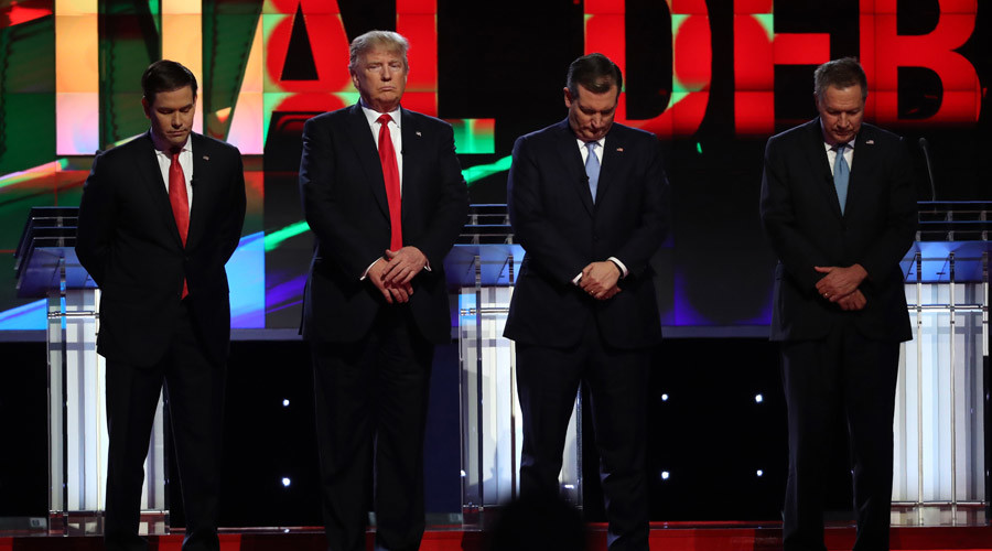 Republican pres candidates: Ground war with ISIS now!