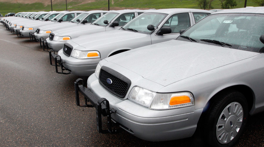 Ford upgrading bulletproof doors on police cruisers & Ford upgrading bulletproof doors on police cruisers \u2014 RT America Pezcame.Com