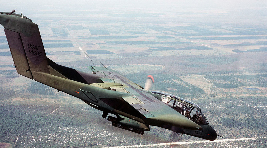 US Military tries out Vietnam War planes against ISIS