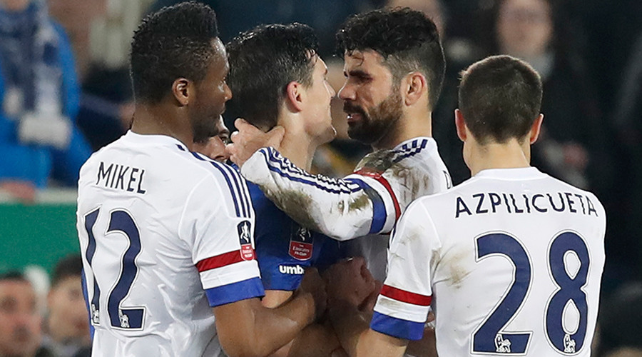 Count Costa? Chelsea FC star denies 'vampire' bite on opponent (VIDEO)