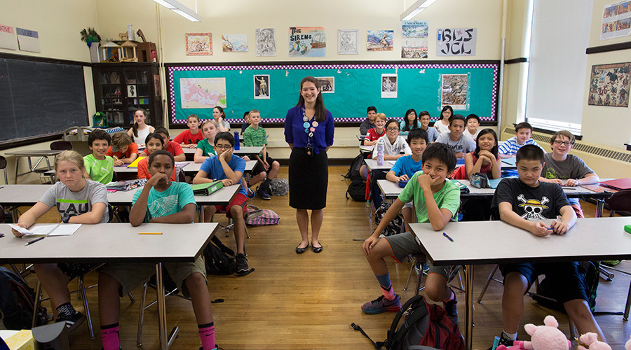 The American classroom: Main protagonist in war on working poor
