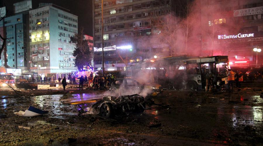 Car bombing rocks Turkish capital Ankara, 34 dead, 125 injured