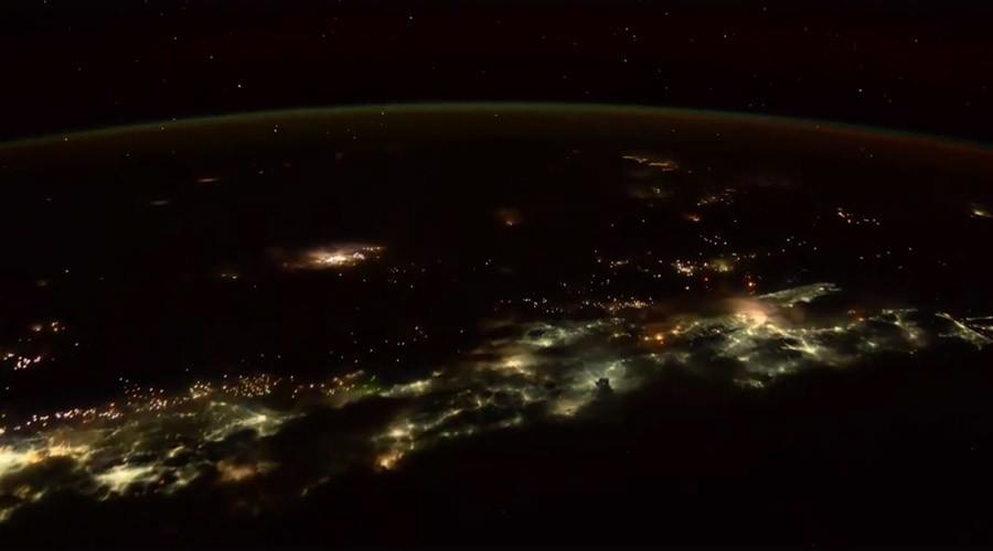 Spellbinding timelapse of violent Indonesian thunderstorm filmed from space (VIDEO, PHOTOS)