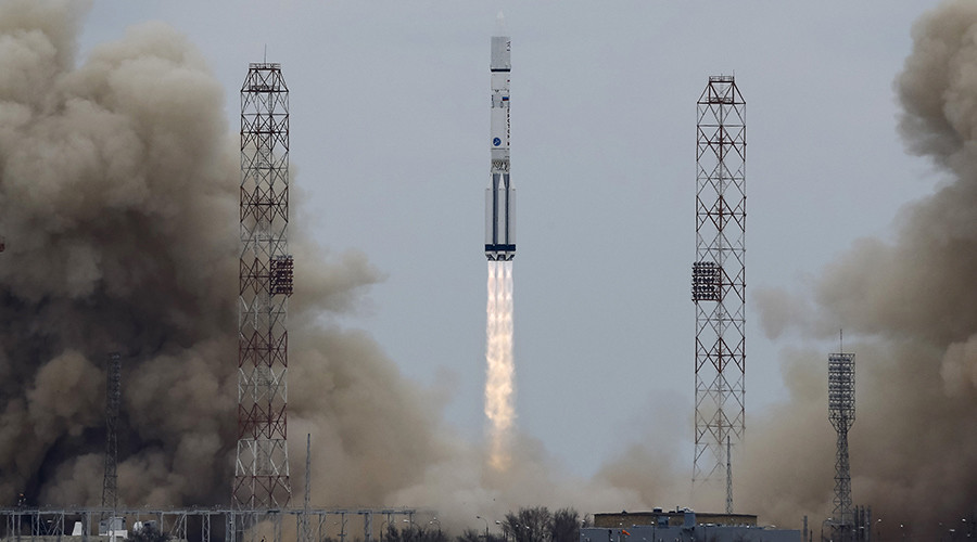 ExoMars: Joint Russia/Europe rocket successfully sets off on long journey to Red Planet