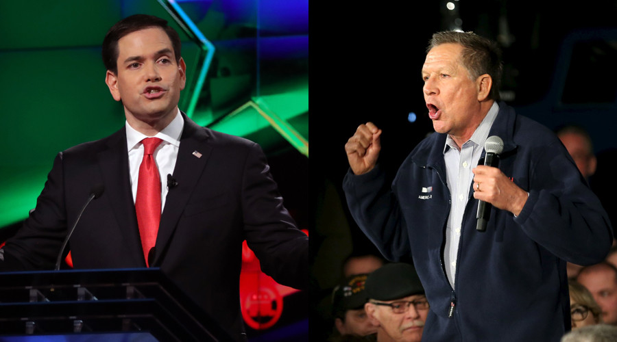 Primary Day: Kasich, Rubio look to home states to shore up flailing campaigns