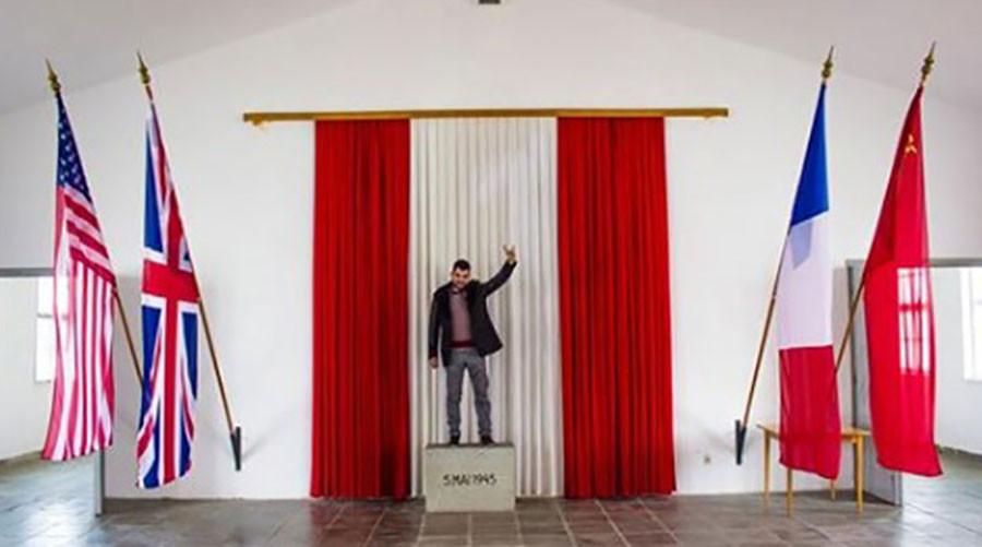 Turkish nationalist desecrates Holocaust memorial at Mauthausen in Austria