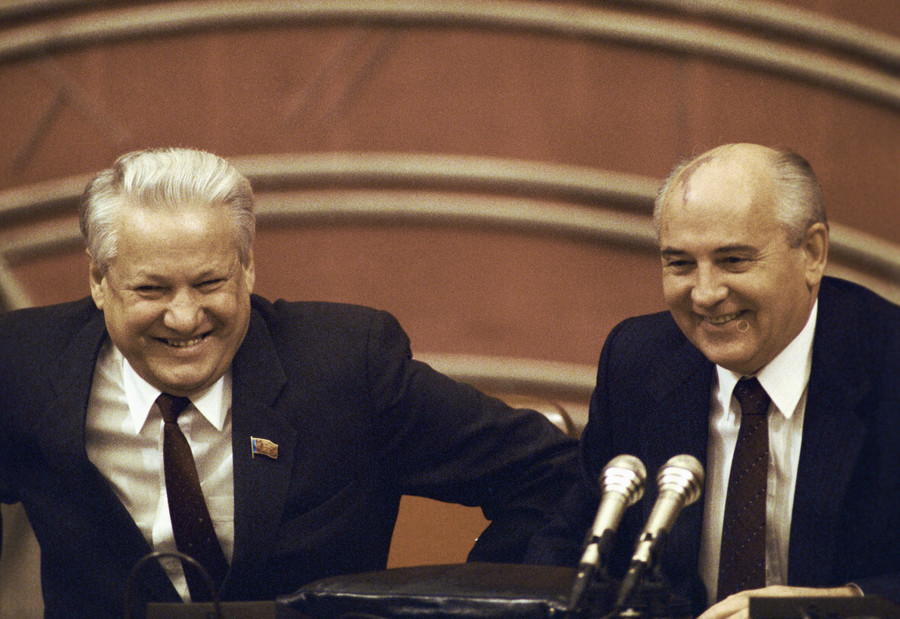 Nationalists seek Duma recognition of Gorbachev's, Yeltsin's past actions as criminal