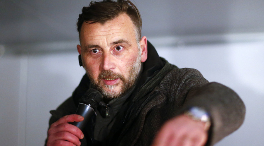 Branding migrants 'scum' could earn PEGIDA leader five years in slammer