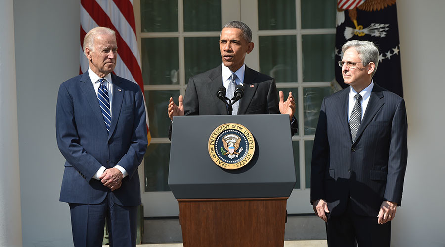 Obama nominates Merrick Garland to replace Scalia on Supreme Court