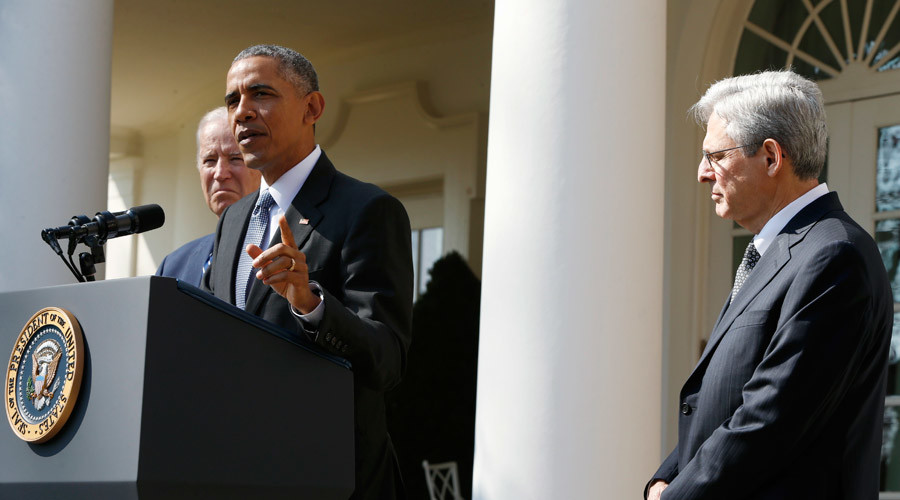 'Maximum test': Obama's pick for Supreme Court vacancy challenges GOP opposition