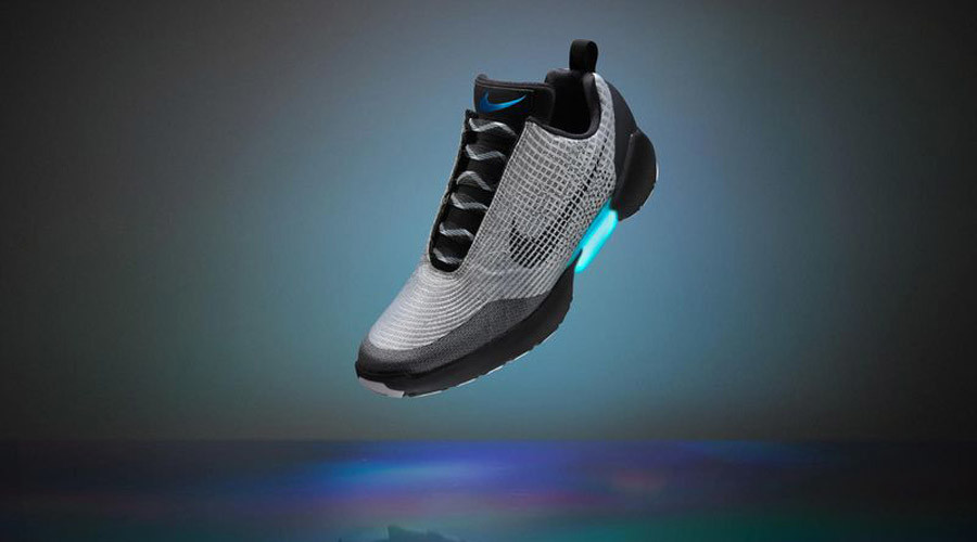 Out of time: Nike finally launches shoes with 'Back to the Future' self-lacing tech