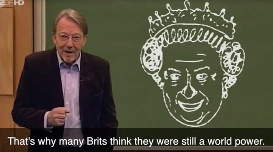 German comedians mock Brexit, call Queen 'ancient horse faced grandma' (VIDEO)