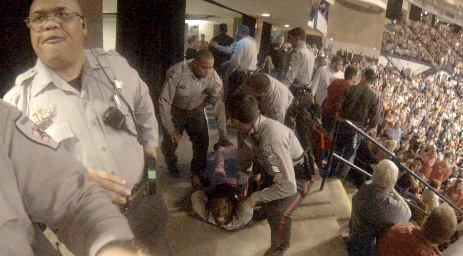 North Carolina deputies punished for inaction at Trump rally incident