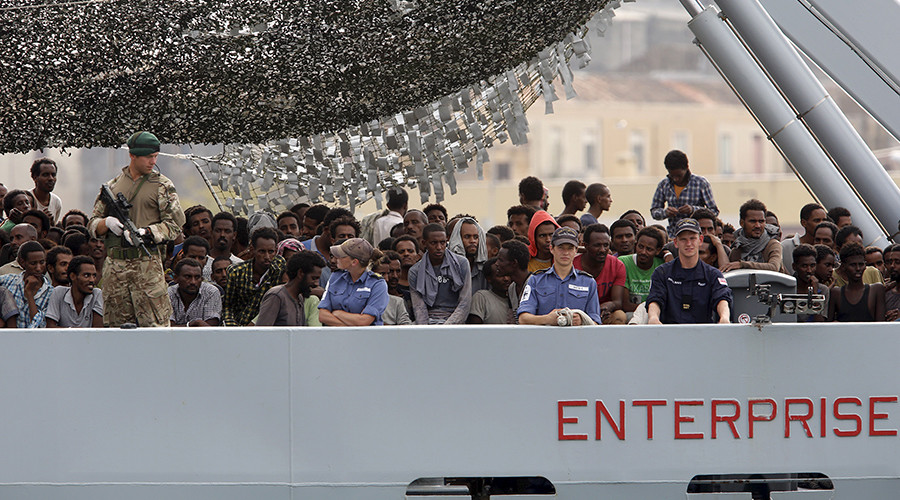 Send warships to Libya, break migrant trafficking 'business model' – Cameron