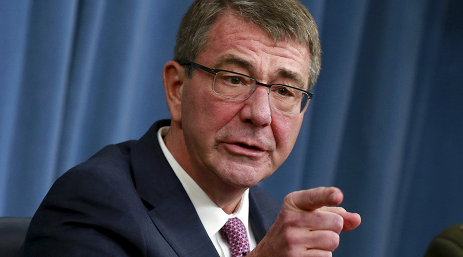 Carter defends $583bn budget, says Russia now 'No 1 challenge', ISIS well down the list