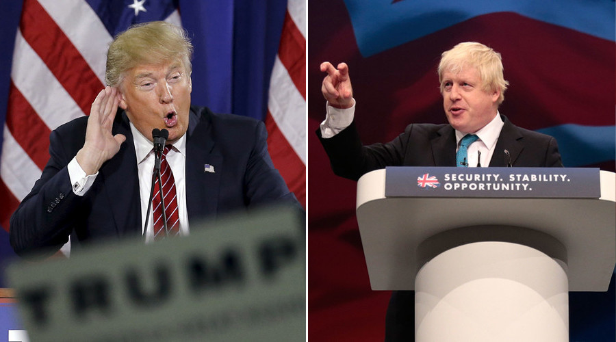Boris Johnson: 'Being mistaken for Trump is the worst'