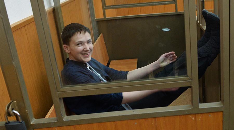 Ukrainian pilot Savchenko gets 22 years in Russian prison, sings through reading of final verdict
