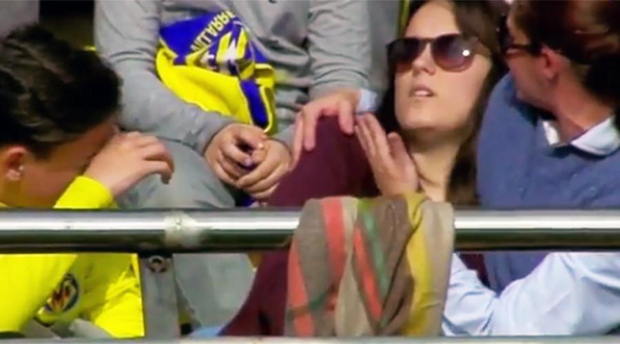 Lionel Messi breaks fan's wrist with wayward shot (VIDEO)