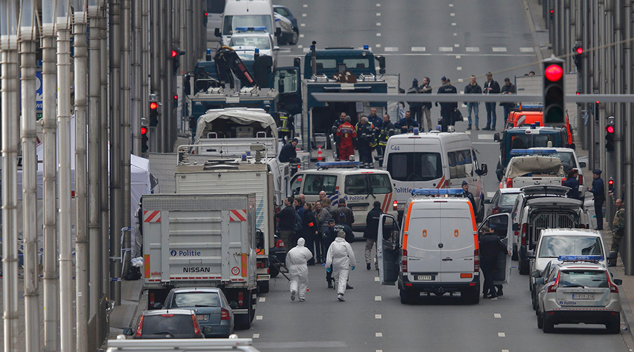 US presidential candidates react to Brussels attacks