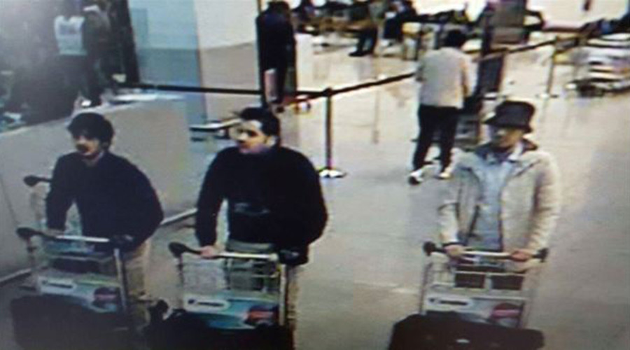 Image released of possible suspects behind Brussels Airport blasts