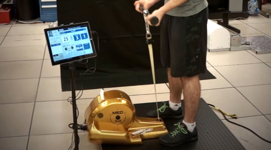 NASA launches the future of fitness to ISS… and it's gold & miniature