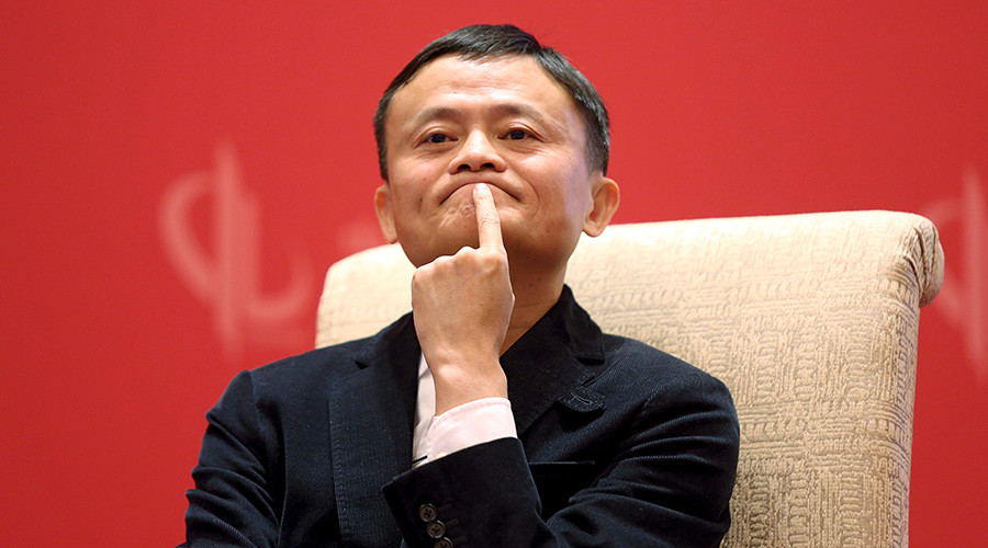 Jack Ma sees future in world e-trade platform