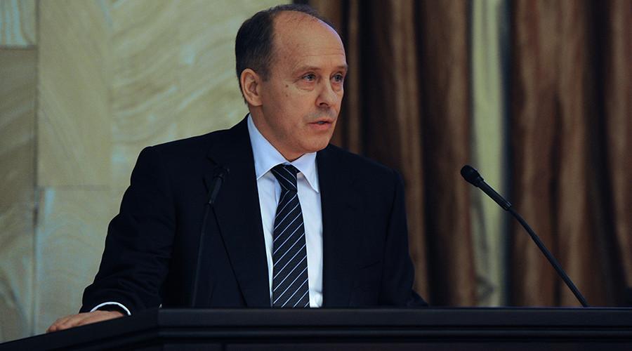 FSB chief says terrorist threat in Russia 'under control'