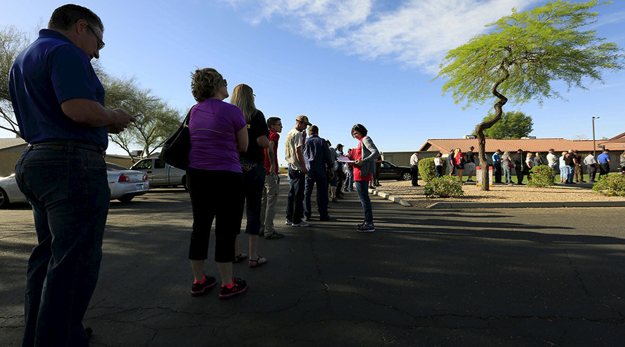 'National disgrace': Barred voters, hours-long lines plague Arizona & Utah during 'Western Tuesday'