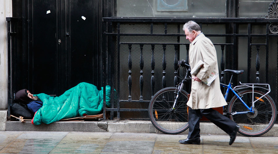 Devastating rise in homelessness proof UK at mercy of crippling housing crisis – charity