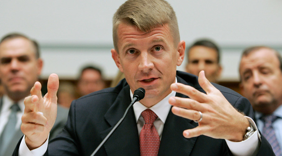 Ex-Blackwater 'no sh*t' mercenary Erik Prince feels wrath of US Justice Dept, reports The Intercept