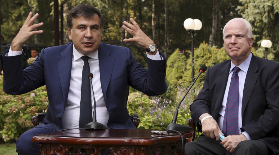 Foreigners in Ukrainian leadership are 'humiliation' – ex-Georgian prez turned Ukrainian governor