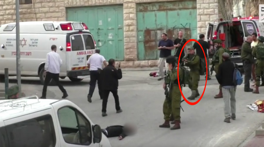 Blood-chilling VIDEO: IDF soldier seen shooting injured 'Palestinian attacker'
