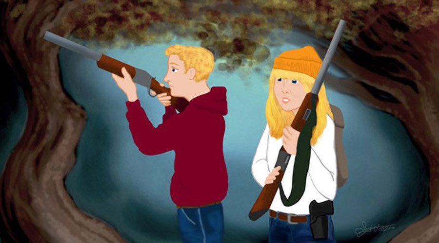 'I'll huff and I'll puff and I'll shoot your house up': NRA adds firearms to fairy tales