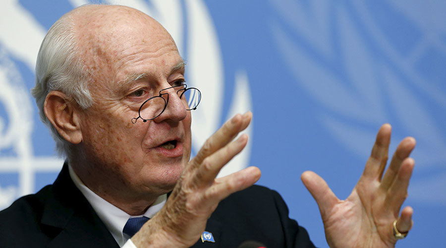 No mention of Assad's fate in Mistura's 'basic principles' for Syria solution – report