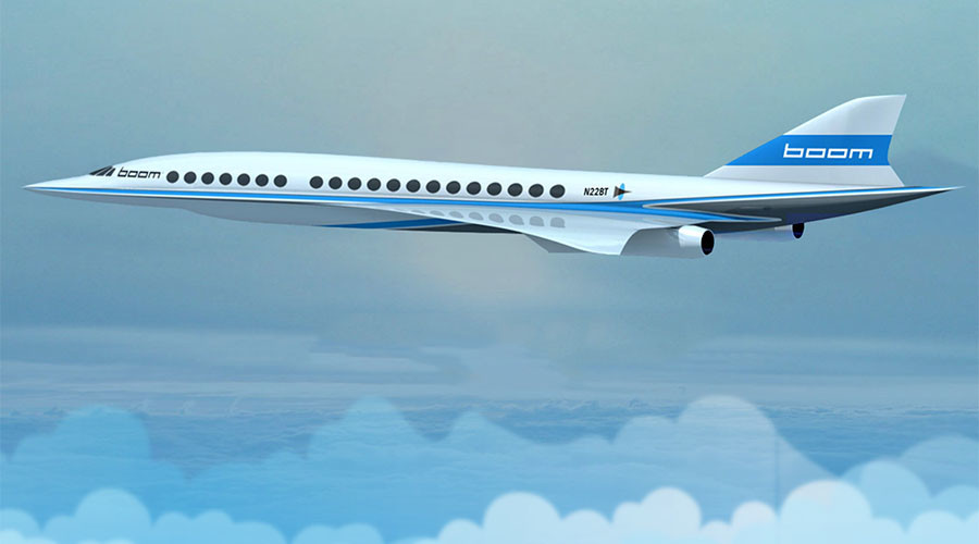 Quicker than Concorde: Boom startup plans supersonic NYC-London flights in 3 1/2 hrs