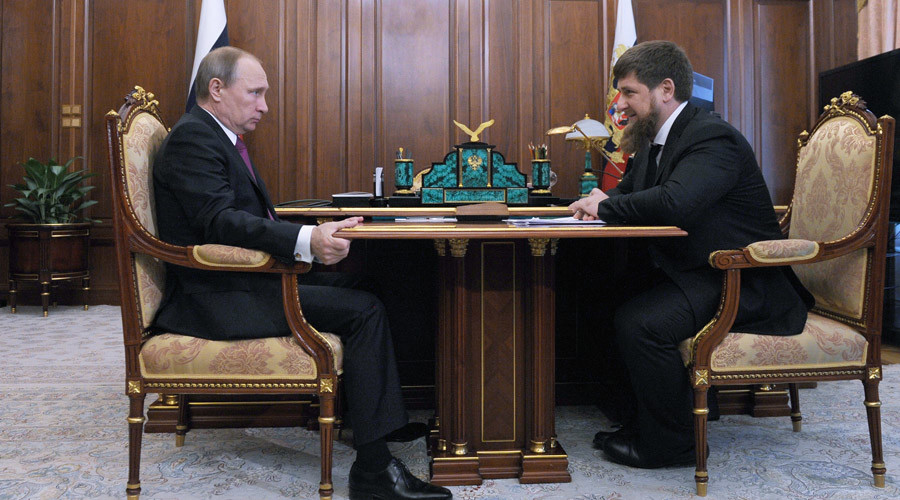 Putin backs Kadyrov to stay on as Chechen leader