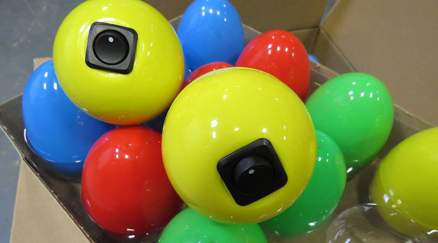 Beep beep: Bomb squad builds noise-making Easter eggs for blind kids