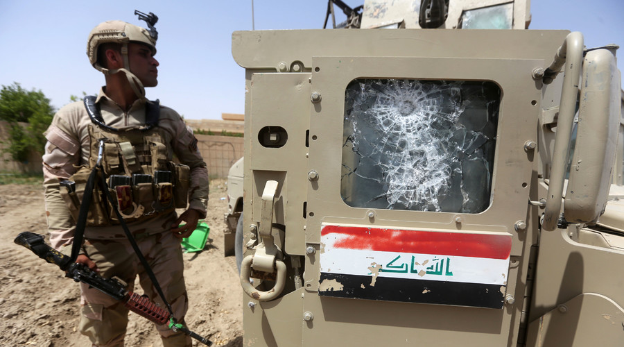 ISIS suicide bombing targets Iraqi football game, dozens dead