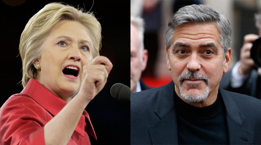 Clooneys mocked for hosting $353k-per-couple Hillary Clinton fundraiser