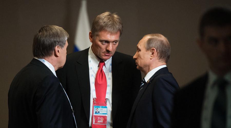 Kremlin warns of planned 'information attack' against Putin