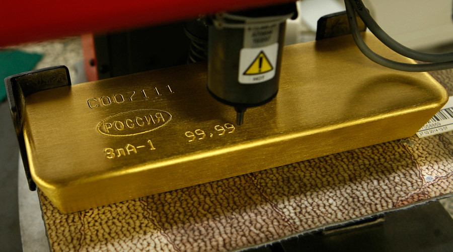 Russia becomes world's top gold buyer